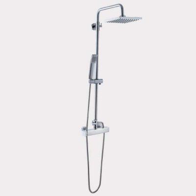Equipo de ducha, Monomando con Accesorios de Ducha Petra 16 MR, Cromo