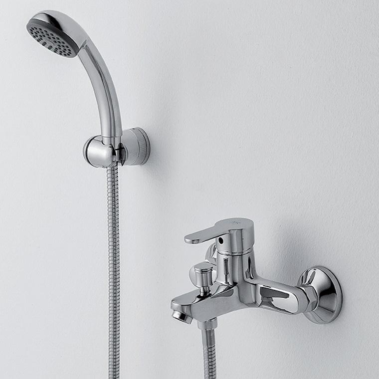 Grifo de ba o monomando con accesorios de ducha baza 15 mr - Accesorios ducha ...