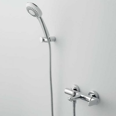 Grifo de Baño, Monomando con Accesorios de ducha Beret 14 MR, Cromo
