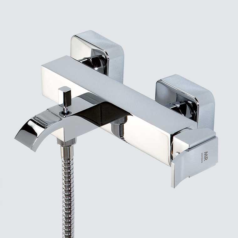 Grifo de ba o monomando con accesorios de ducha inca mr for Accesorios para ducha