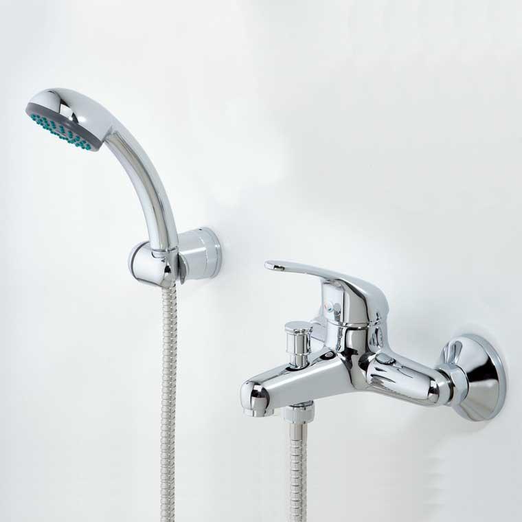 grifo de ba o monomando con accesorios de ducha ecoaspe 11