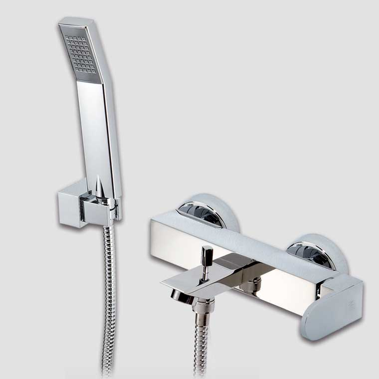 Grifo de ba o monomando con accesorios ducha vera mr - Accesorios ducha ...