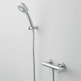 Grifo de Ducha, Monomando con Accesorios de ducha Beret 14 MR, Cromo