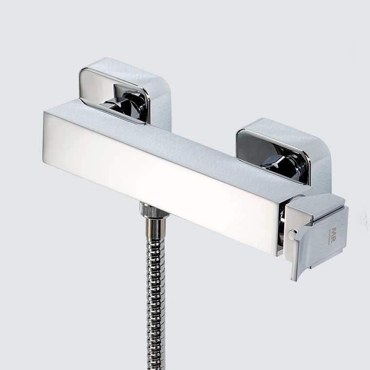 Grifo de ducha monomando con accesorios de ducha inca de mr for Grifo monomando