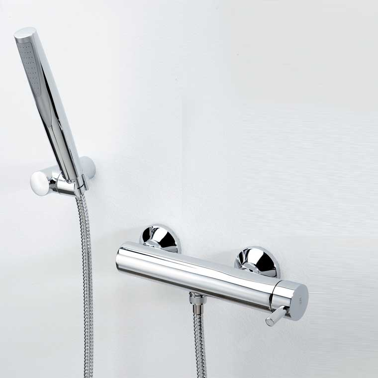 Grifo de ducha monomando con accesorios ducha delta 06 mr - Grifo monomando ducha ...
