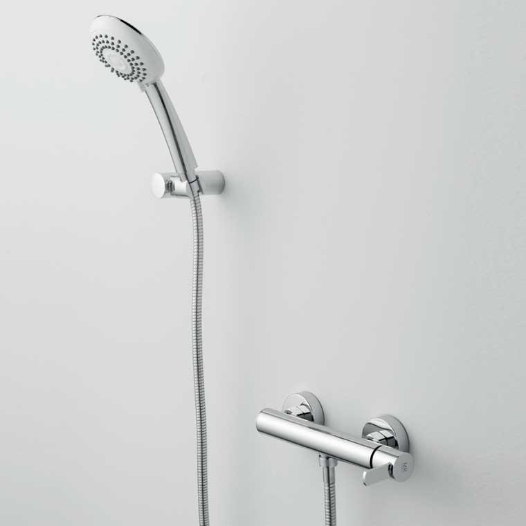 Grifo de ducha monomando con accesorios ducha delta 14 for Grifo monomando