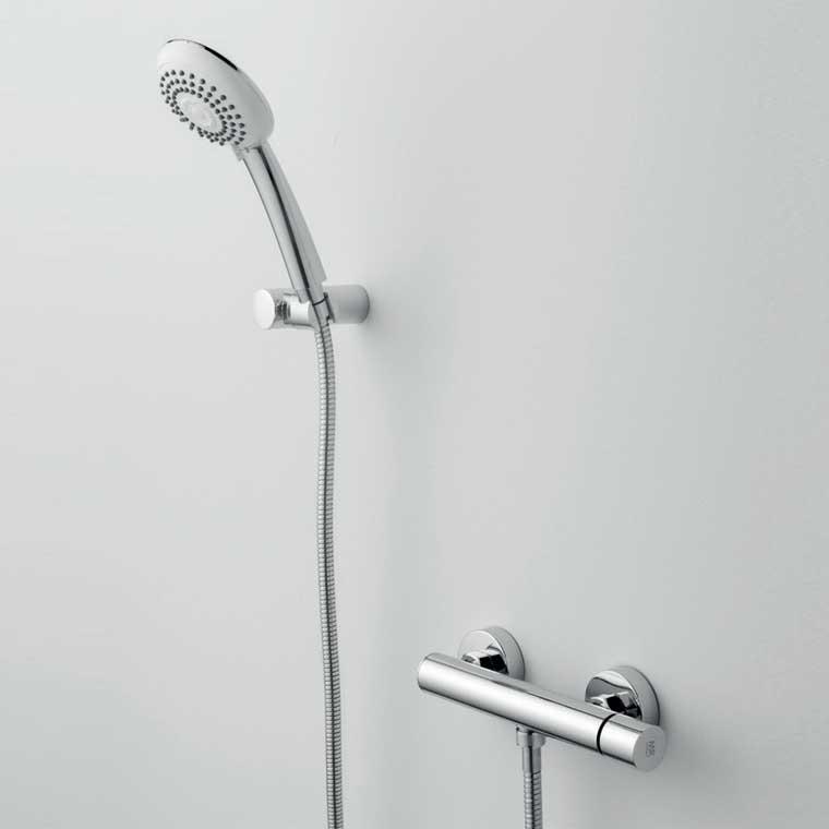Grifo de ducha monomando con accesorios ducha delta cil mr for Accesorios de ducha