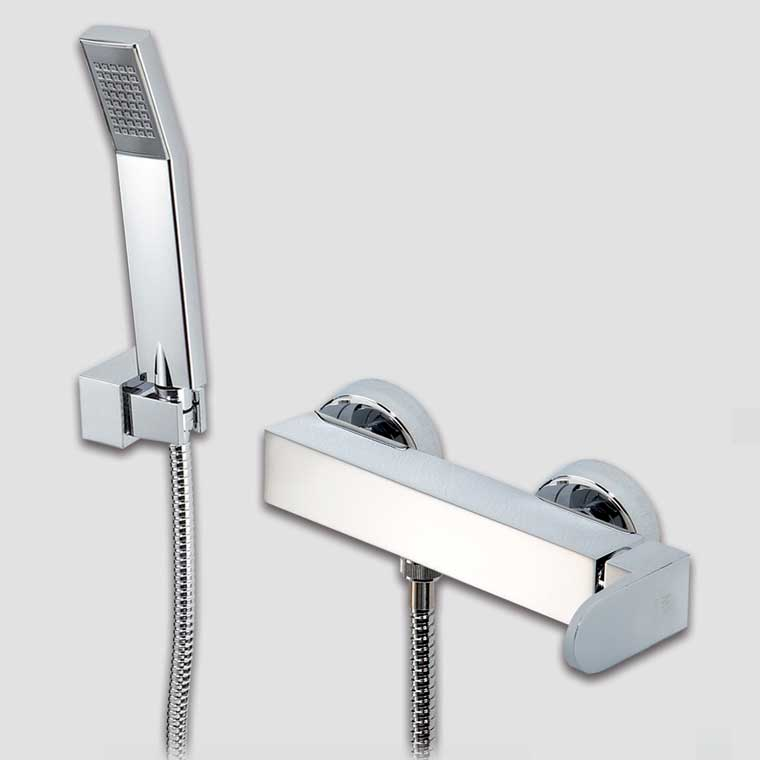 Grifo de ducha monomando con accesorios ducha vera mr - Accesorios ducha ...