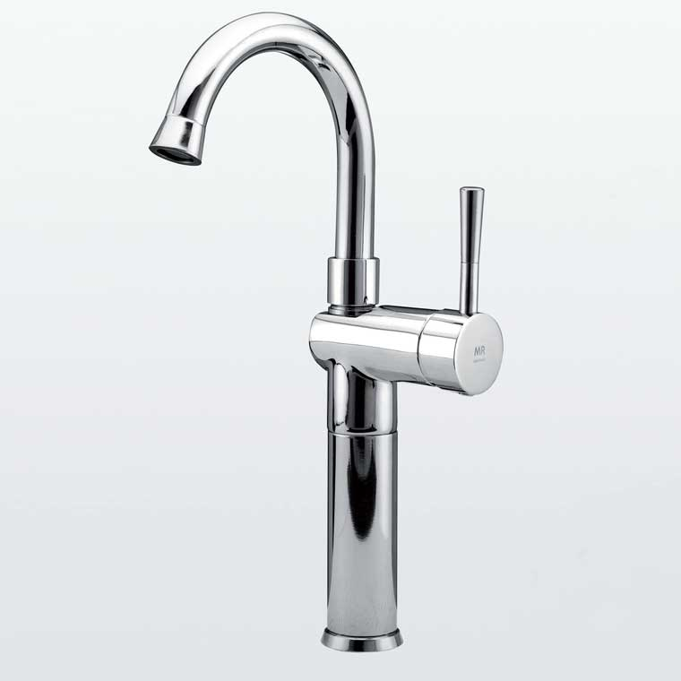Grifo de lavabo ca o alto alargadera 12 cm monomando roda mr for Grifo alto lavabo