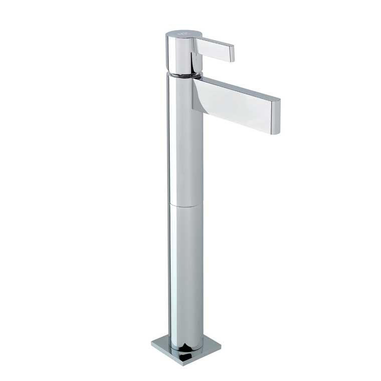 Grifo de lavabo alto monomando con alargadera 15 cm tanau mr for Grifo lavabo