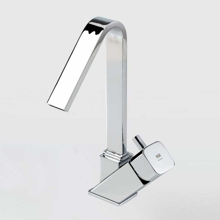 Grifo de lavabo monomando ca o alto catral mr cromo - Grifo lavabo cascada ...