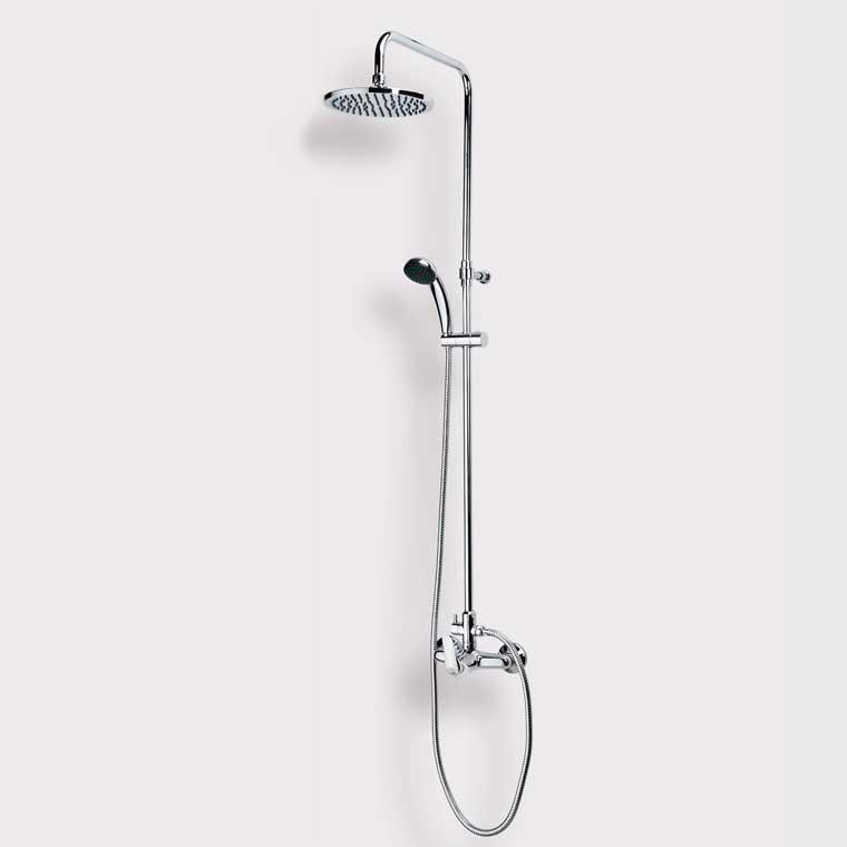 Equipo de ducha monomando con accesorios de ducha lodi mr for Accesorios de ducha